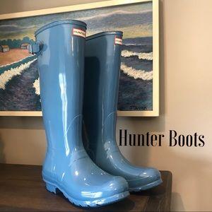 NWOT Hunter Rain Boots Size 9